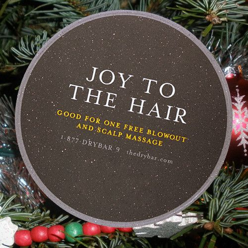 Drybar Gift Coaster - JOY TO THE HAIR