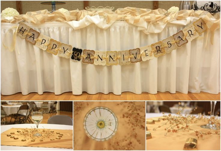 17 best images about anniversary idea 39 s on pinterest for 50th wedding anniversary decoration ideas