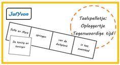 JufYvon: Taalspelletje: 'opleggertje'Oefenen met Zinsdelen