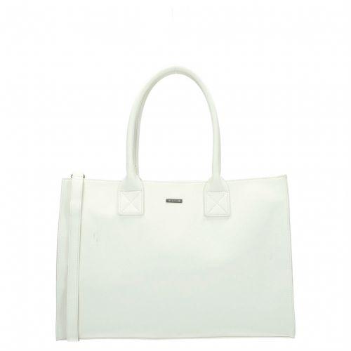 #Beagles 16073-003 borsa larga da donna bianca - In stock  ad Euro 27.22 in #Beagles #Borsette