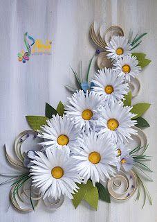 Neli Quilling Art: Daisies