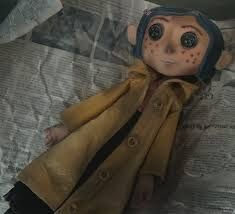 Image result for coraline  doll button eyes