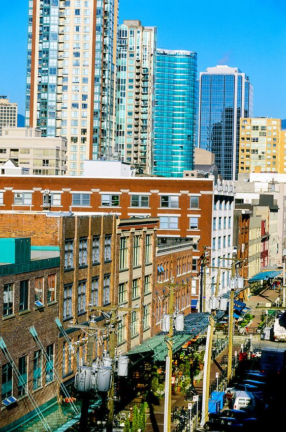 Yaletown, Vancouver, British Columbia, Canada - shopping, restaurants and nightlife