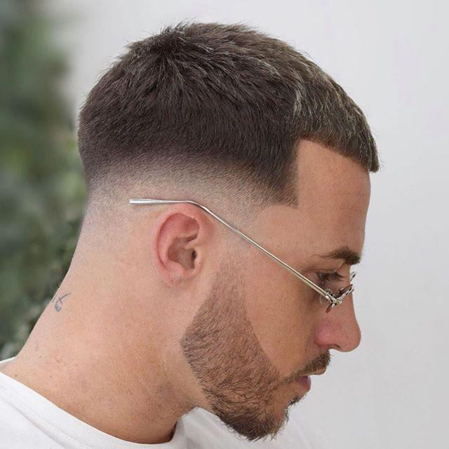 75 männer kurze verblassende frisur | männer haarschnitt