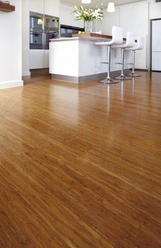 Bamboe vloer kleur (koffie)