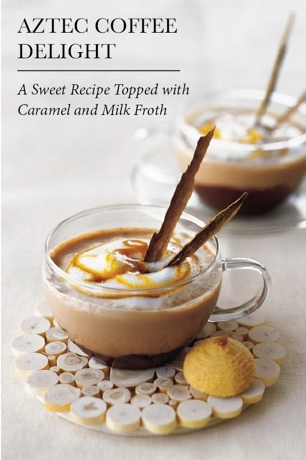Aztec Coffee Delight   Warm your soul with this indulgent coffee recipe that's a magical mix of golden cinnamon, cocoa, milk and cream flavors for your Nespresso Moment.