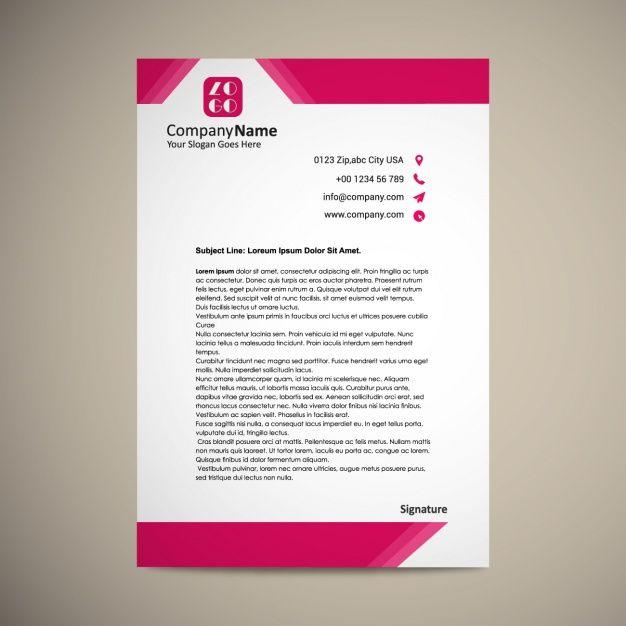 Image result for letterhead template