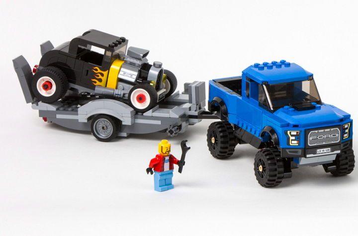 LEGO y Ford acaban de introducir nuevos sets de vehículos de Ford