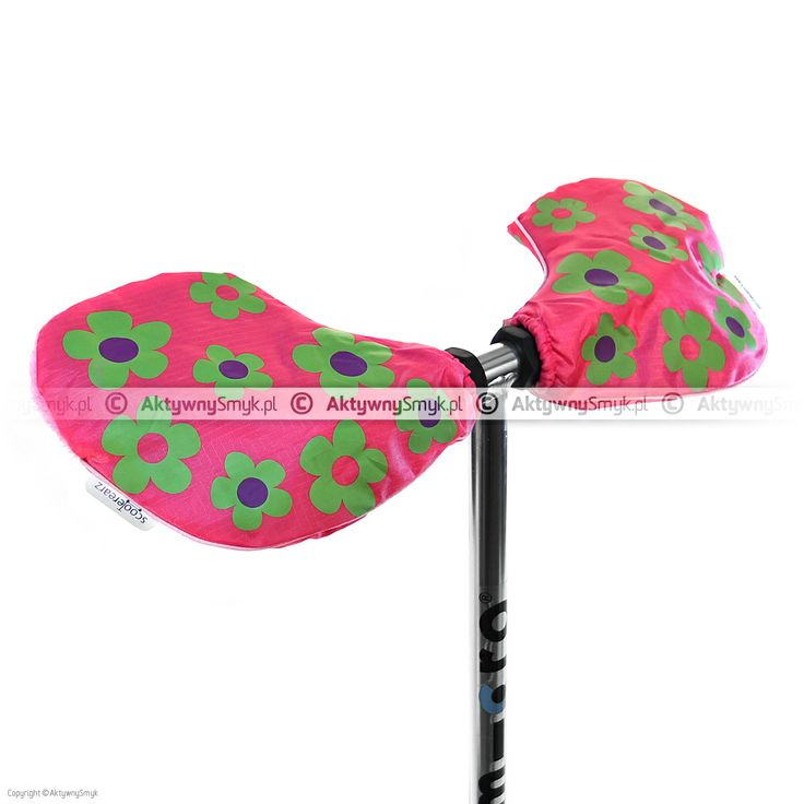 Różowe w kwiatki ocieplacze Scooterearz montowane na uchwyt kierownicy to idealne rozwiązanie dla AktywnegoSmyka nie gustującego w rękawiczkach tudzież dla rodzica, który nie ma cierpliwości aby upakować wiercące się małe paluszki w odpowiednich rękawiczkowych mieszkankach ;-) http://www.aktywnysmyk.pl/ocieplacze-scooterearz/1203-ocieplacze-scooterearz-rozowe.html