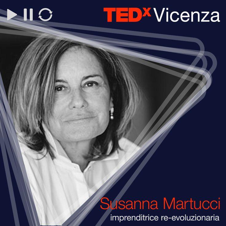 """Susanna Martucci / Imprenditrice re-evoluzionaria > """"Re-evoluzioniamo i materiali""""  #TEDxVicenza #TEDx #recycling"""