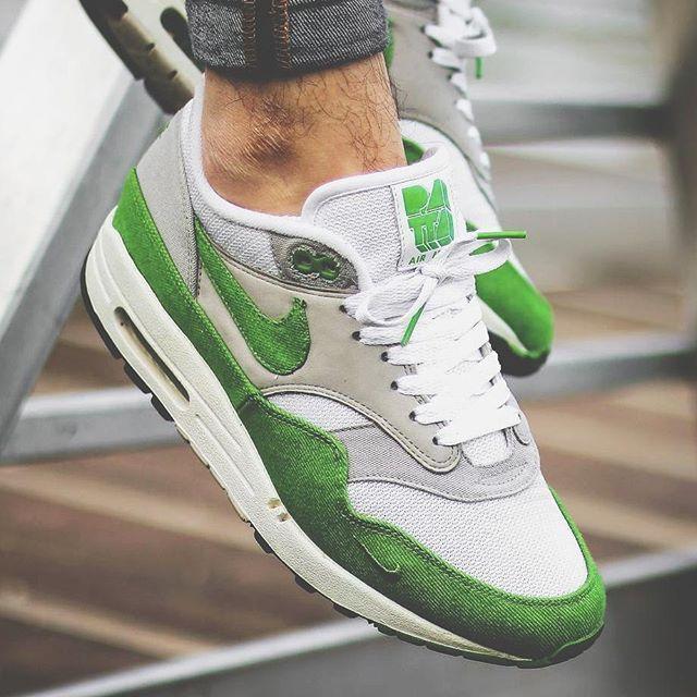 Patta x Nike Air Max 1 Spring Green #Nike #AirMax #Patta