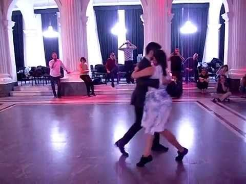 Tango - Sebastian Jimenez & Maria Ines Bogado - Walks and change of dire...