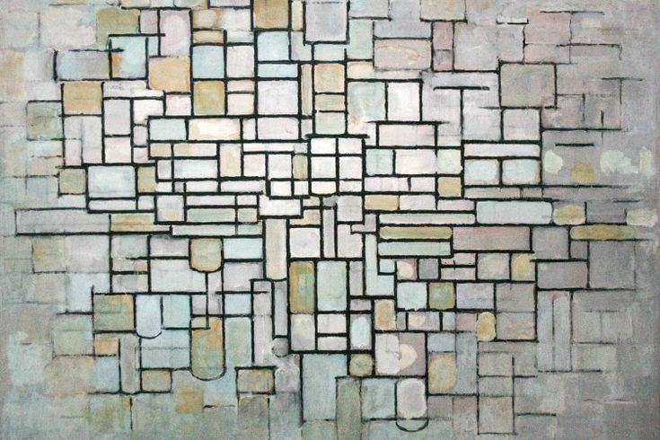 Piet Mondriaan (1872-1944), Composition No. II; Composition in Line and Color, 1913. Oil on canvas, 88 x 115 cm. Kröller-Müller Museum, Otterlo, Netherlands © Collection Kröller-Müller Museum, Otterlo, the Netherlands.
