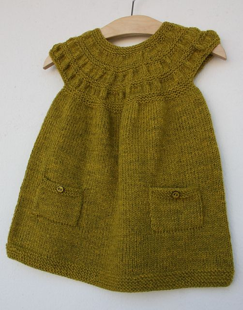 This pattern is available in a wide range of sizes for little girls.