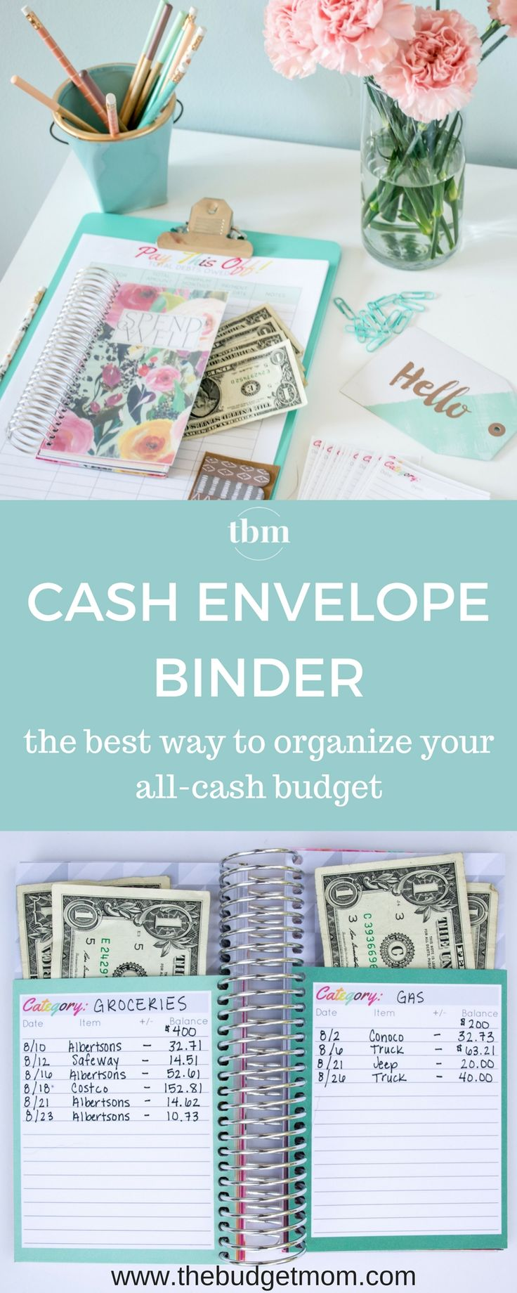 The Spend Well Budget Binder Giveaway! Start your month out right with a more organized budget, less stress, and more money saved! via @thebudgetmom