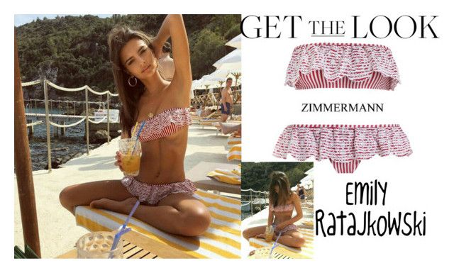 """""""Emily Ratajkowski Instagram /Hotel Il Pellicano in Tuscany Italy June.10.2017"""" by valenlss ❤ liked on Polyvore featuring Zimmermann"""