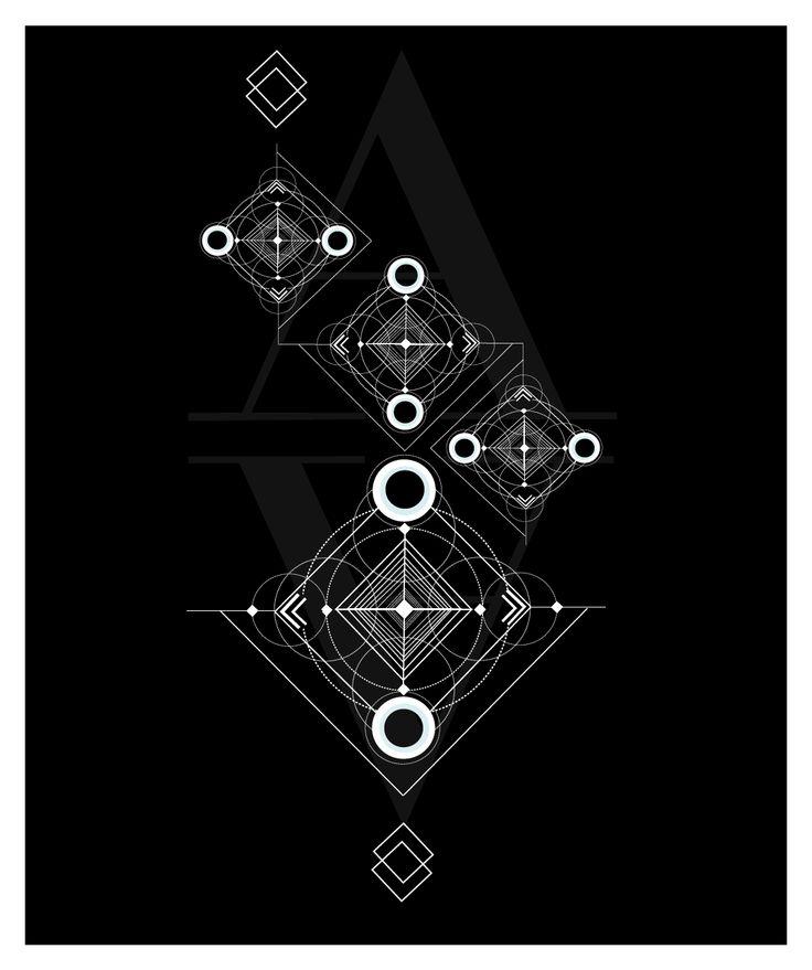 Geometrisiä kuvioita Design by Julia Kiiskinen