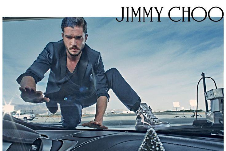 KIT HARINGTON FOR JIMMY CHOO