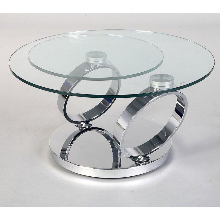 Small Rectangle Glass And Chrome Coffee Table Uk
