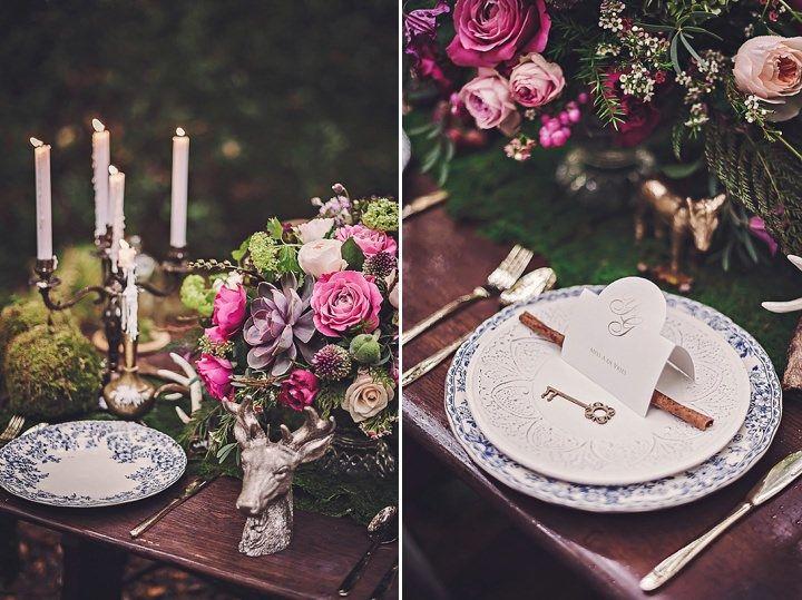 Bohemian wedding ideas - table setting #rusticweddinginspiration