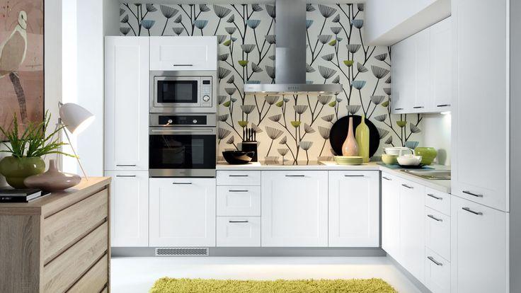 Meble kuchenne #TwojeMeble #TwojaKuchnia #FamilyLine #EDAN-BIAŁY - ikea küchen planen