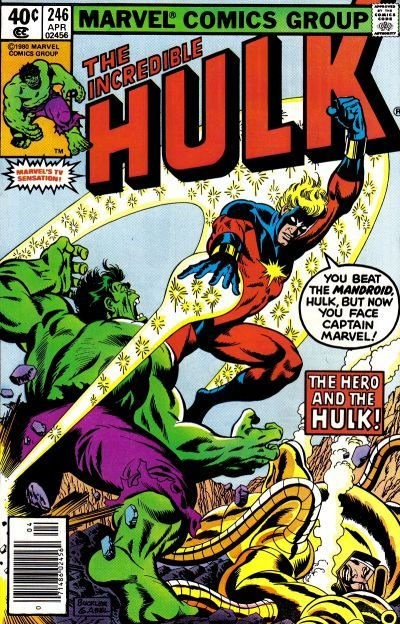 Incredible Hulk # 246 by Rich Buckler  Jack Abel - Organize in #KlaserApp