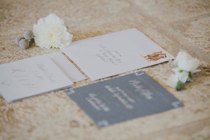 Styling & Planning: The Wedding Care - Photographers: Purewhite Photography. Stationary: Cecilia Boschi  Read More on SMP: http://stylemepretty.com/vault/gallery/75447