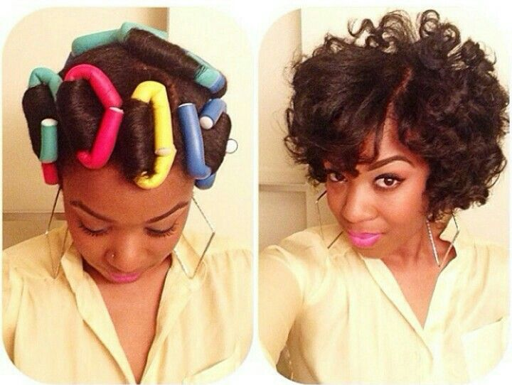 flexi rod styles for short hair rods are always to see how they turn out no two ways 8189 | 0e7634bf4d610f84536391961653ba5f
