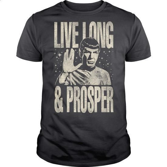 Live long and prosper - design your own t-shirt #linen shirts #personalized sweatshirts