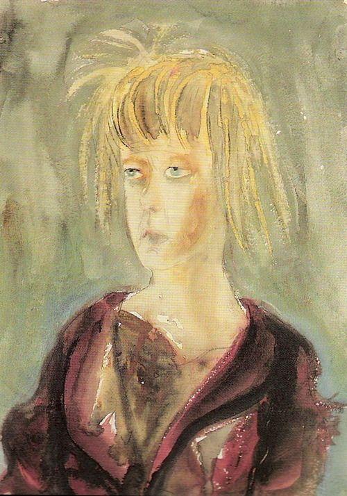 Otto Dix, Mädchen Bildnis (Portrait of a Girl), 1923