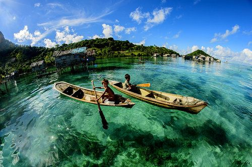 透明度が高すぎて海とは思えない…マレーシア「センポルナ」の現実離れした景色
