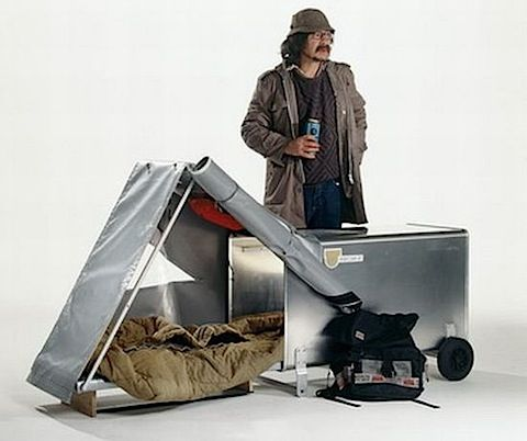 Urban Nomads' Instant Housing shelters for the homeless - Designbuzz