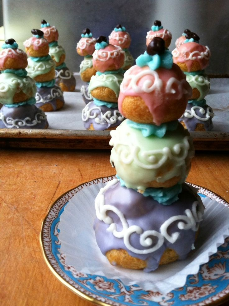 """courtesan au chocolat. Inspired by Mendl's pastry in """"The Grand Budapest Hotel"""" movie by Wes Anderson."""
