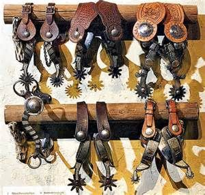 Cowboy spurs-www.icollector.com