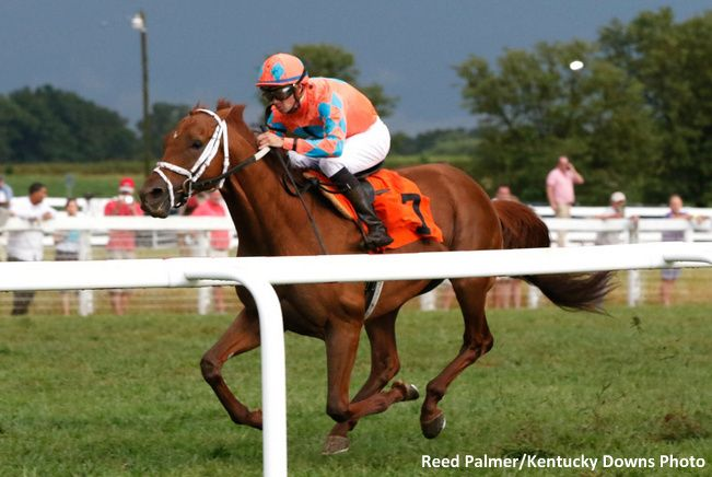 Da Big Hoss takes the Kentucky Turf Cup for the second year in a row