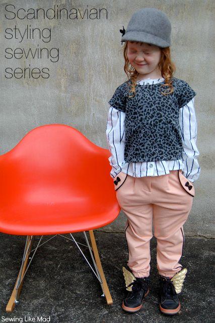 Boy, Oh Boy, Oh Boy!: Scandinavian Style Sewing: Sewing Like Mad