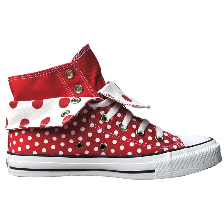 converse shoes with polka dot laces out podcasts
