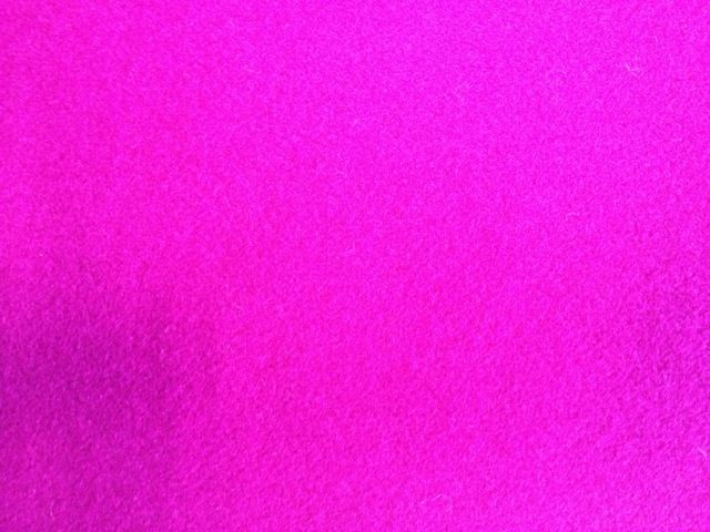 Bright pink melton T1# 0040 80% Wool	20% Nylon 148cm £45/mt