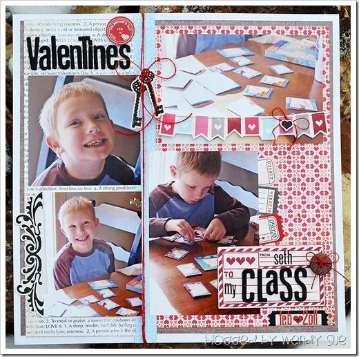Classvalentineslayout Idea For Austins 1st Day Of School