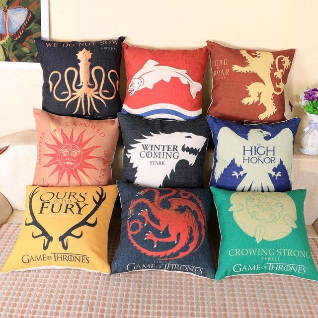 Fancy   Game of Thrones Series Home Decor Pillow Covers. Top 25  best Game of thrones decor ideas on Pinterest   Khaleesi