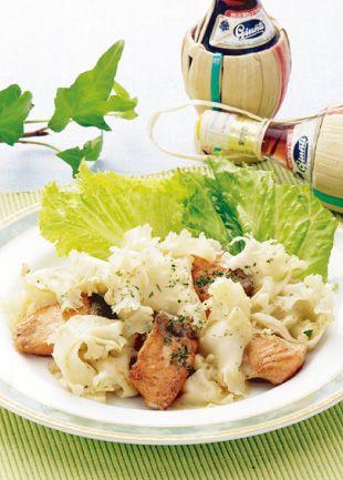 꽃송이버섯 요리 음식 레시피 -  꽃송이버섯 연어 버터 볶음 Sparassis crispa ↓↓ www.cauliflower.kr