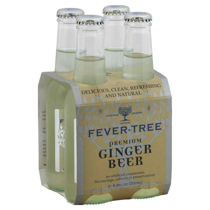 Fever-Tree Ginger Beer - 200ml four pack