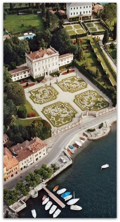 Villa la Quiete, Lake Como - Italy. Just LOOK at those gardens!! I've had the pleasure of visiting this amazing villa - nothing else like it.