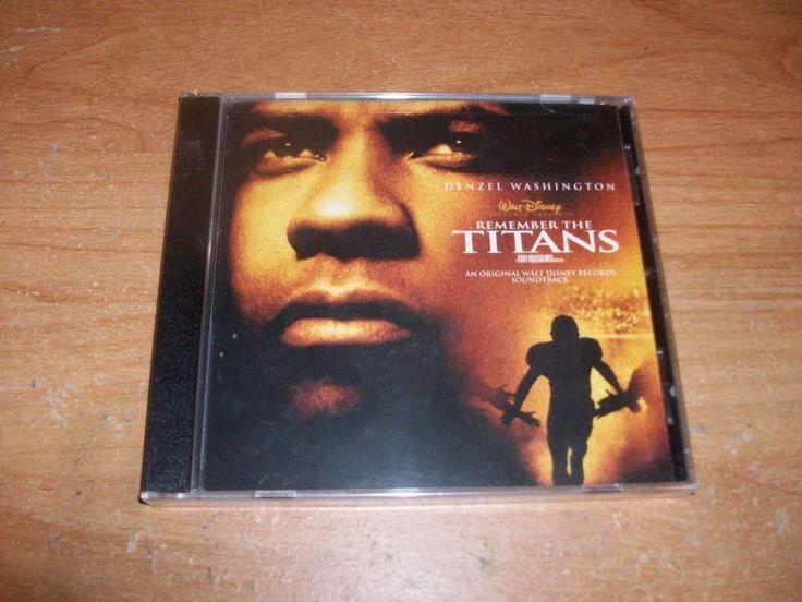 Remember the Titans Original Music Soundtrack (CD, Sep-2000, Walt Disney) NEW #RocknRoll