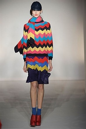 House of Holland A/W12 groovy chevrons