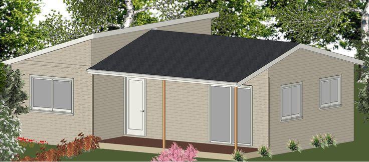 Brisbane Granny Flat Design - The Cabin - 60m2