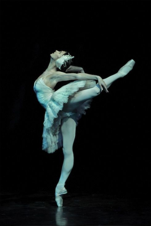 Because of what it took to reach this   --> Polina Semionova  as Odette - Swan Lake