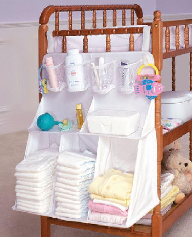 A Changing Table Cum Storage For All Your Baby Essentials.