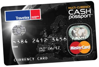 The Benefits of owning the Multi-Currency Cash Passport debit card from Travelex. Great card for study abroad students and round-the-world trips!