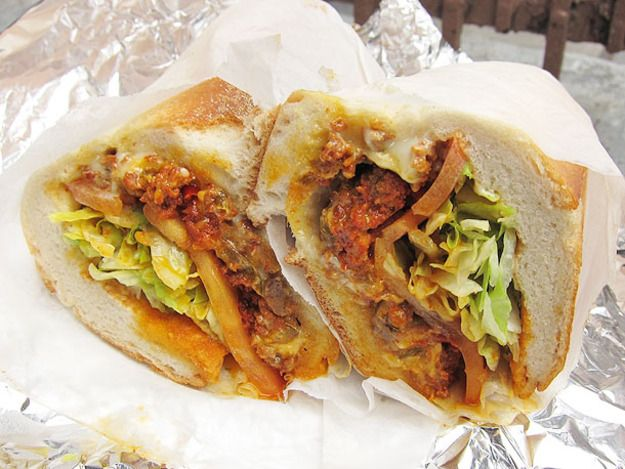 A Sandwich A Day: The Spicy Chopped Cheese From Uni One Gourmet Deli
